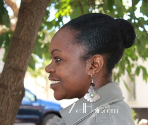 Buns are low manipulation protective styles because they are easy to do and your ends are tucked away.