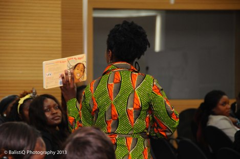 All the children/babies received a copy of 'I Love My Hair'.