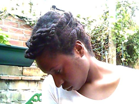 Front twist updo September 2012