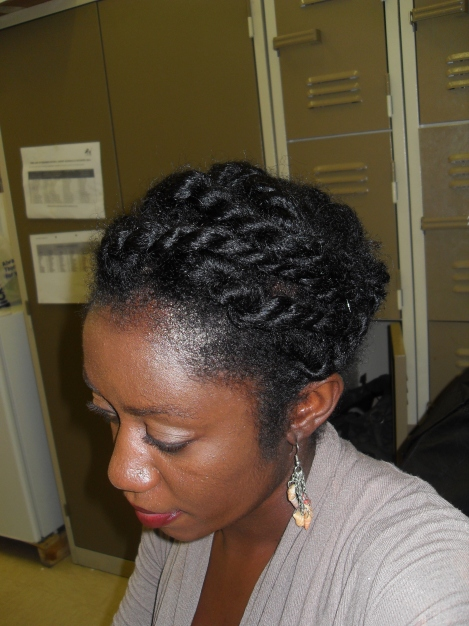 Large Two Strand Twists
