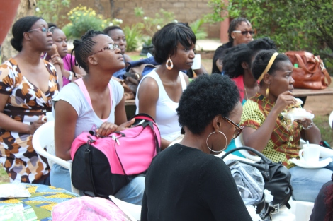 About 30 participants attended the August natural hair workshop at Wild Orchid Cafe on Nangwenya road in Lusaka