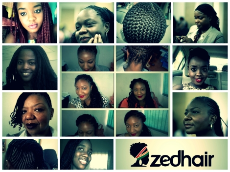 Zedhair Collage: Lovely Braids