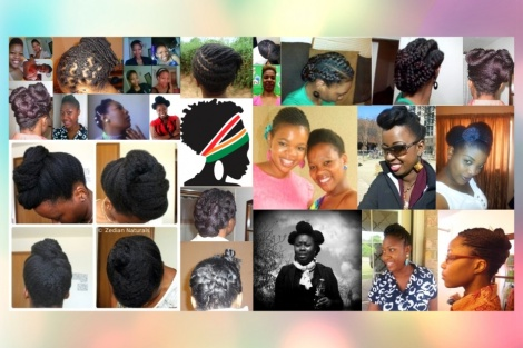 ZedHair Collage: Semi-protective Updos