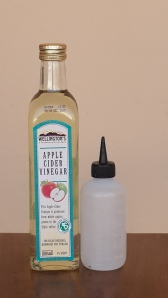 Apple Cider Vinegar not only helps to get rid of build up on the scalp it is also great for dandruff.