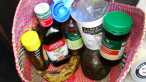 You can get bentonite clay, organic apple cider vinegar and flaxseeds from Umoyo Natural Health stores