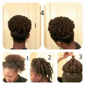 Twisted Bun Style Guide by Monde4U