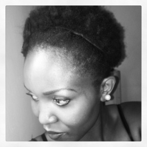 First Afro Puff