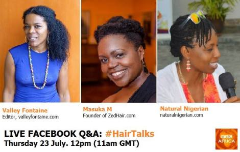ZedHair will be sharing answering questions about natural hair