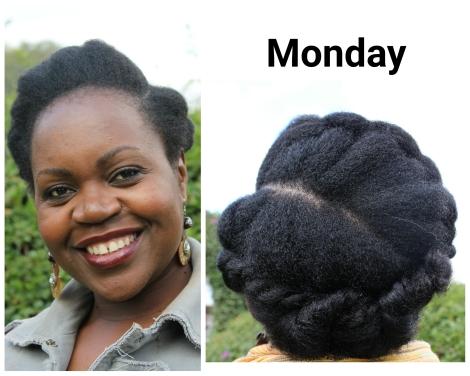 Monday - Flat Twist/Chunky Twist Combo