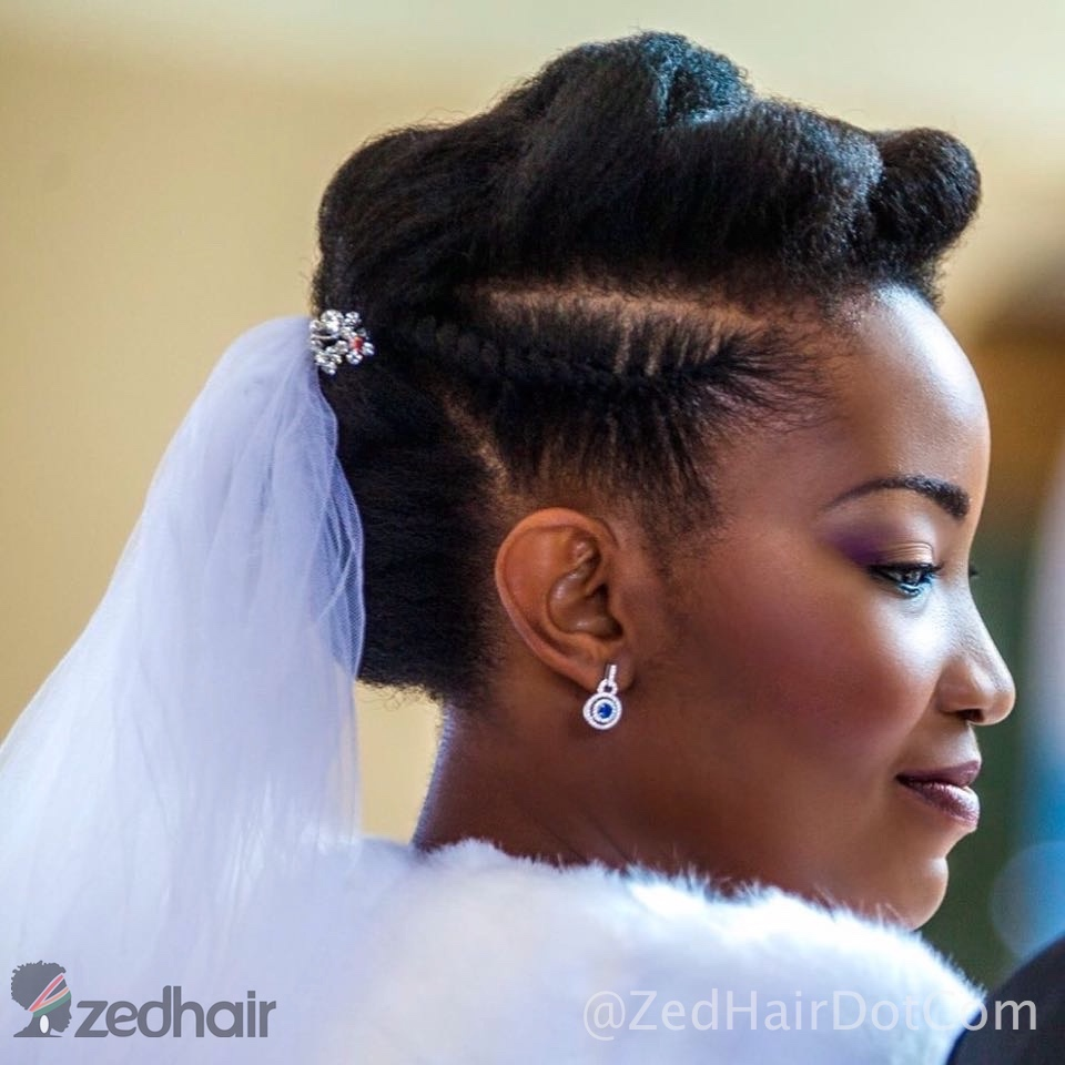 chanda – natural hair bride | zedhair