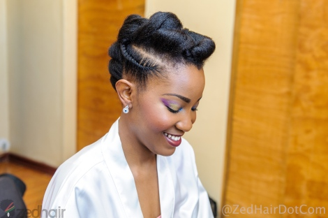RTP and Twist Updo by NaturallyAfroSis Salon